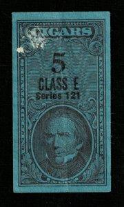 USA Revenue stamp, Cigars 5 Class E series 121 (TS-361)