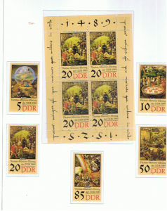 EAST GERMANY 1989 MENTZER UNMOUNTED MINT