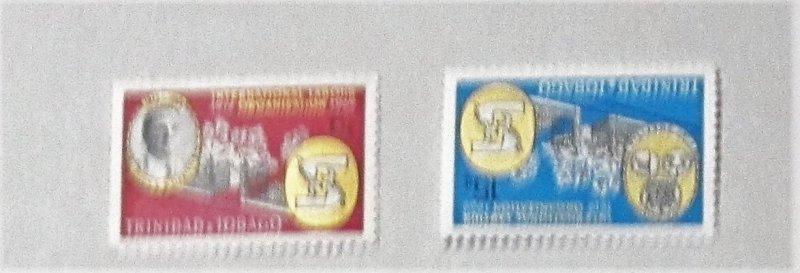 Trinidad and Tobago - 160-61, MNH Set. Capt. Cipriani. SCV - $0.50