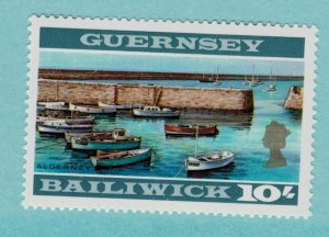Guernsey Stamp, Great Britain Issues, Scott #22, Mint Never Hinged MNH - Free...
