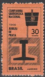 Brazil #1017 MNH  (S2374)