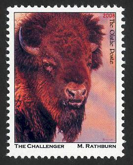 Rathburn Original: Challenger - Artistamp - Cinderella - MNH