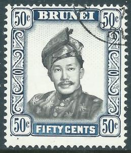 Brunei, Sc #93, 50c Used
