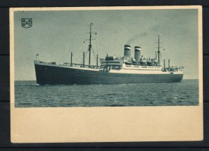 Germany New York 1937 H.A.L. Ship Mail Picture Postcard F