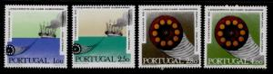Portugal 1080-3 MNH Cable Laying Ship, Telegraph Cable