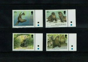 South Georgia, 2002  Seals,  MNH set.