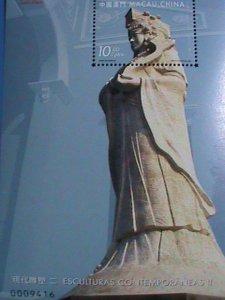 MACAU STAMP-2000- SC#1036-MODERN SCULPTURE II -MINT-NH S/S SHEET