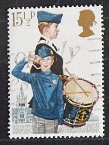 Great Britain, 1982 The 75th Anniversary of Scouting, MC:910; SC#983; YT:1039