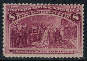 U.S. #236*  CV $52.50