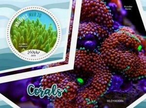 Z08 MLD190306b MALDIVES 2019 Corals MNH ** Postfrisch