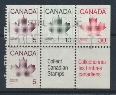 Canada  SG 1033a  perf 12 x 12½  Used   see details