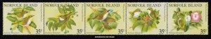 Norfolk Island Scott 287a-287e Mint never hinged.