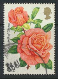 Great Britain SG 1006  - Used  - Roses