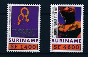 [SU1110] Suriname Surinam 2001 United Nations UNIFEM  MNH