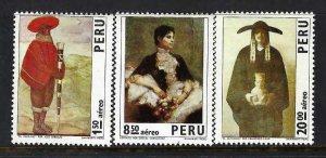 PERU C367-69 MNH A1115