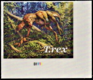 US 5413 MNH VF/XF 55 Cent Tyrannosaurus Juvenile Plate # Single
