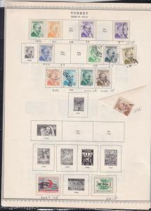turkey issues of 1952-57 stamps page ref 18463