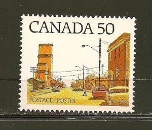 Canada 723 Prairie Street Scene MNH
