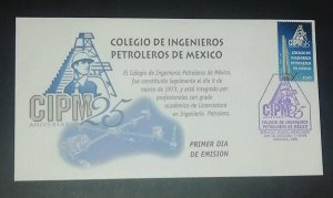 A) 1998. MEXICO, COLLEGE OF PETROLEUM ENGINEERS, FDC, XF