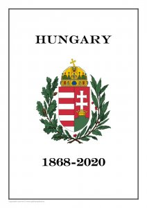 Hungary 1868-2020  PDF (DIGITAL) STAMP  ALBUM PAGES