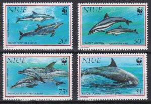 1993 Niue 822-825 WWF / Sea fauna 16,00 €
