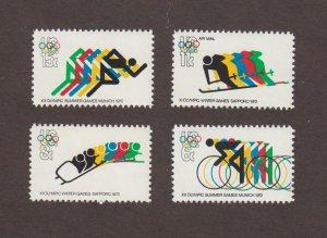 US,1460,1461,1462,C85,1972 OLYMPICS COLLECTION MINT NH,OG