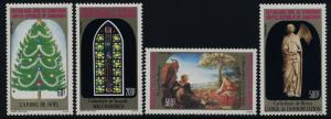 Cameroun 753-6 MNH Christmas Tree, Stained Glass, Art, Sculpture