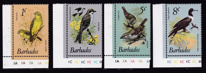 Barbados 1979 Birds Complete set to $10. (18) XF/NH(**)