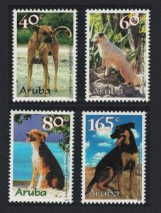 Aruba Creole Dogs 'Canis familiaris' 4v SG#240-243