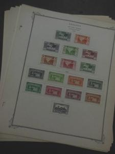 EDW1949SELL : LEBANON Clean, Mint & Used on pages incl. good 1936 Air Mail set.