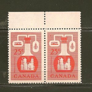 Canada 363 Chemical Industry Pair MNH