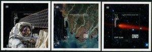 HERRICKSTAMP NEW ISSUES UNITED NATIONS Unispace + 50 Souvenir Sheets