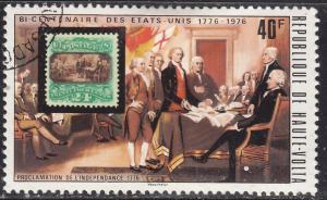 Burkina Faso 353 US 118 and Proclamation 1976
