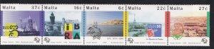 Malta # 970, UPU 125th Anniversary, Mint NH, 1/2 Cat..