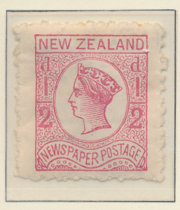 New Zealand Stamp Scott #P1b, Mint Hinged, Perf 12.5x12.5 - Free U.S. Shippin...