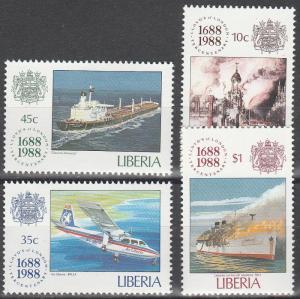 Liberia #1101-4  MNH  CV $5.25 (S10015)