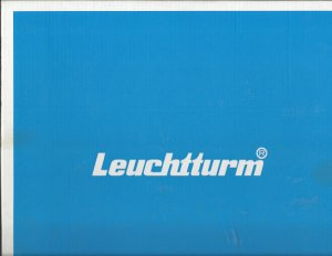 LIGHTHOUSE LEUCHTTURM (50) BLANK NEW ALBUM REFILL PAGES, REDUCED PRICE, SHIP $4.