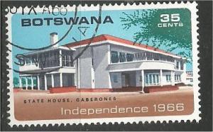 BOTSWANA, 1966, used 35c, Dakota, Scott 4