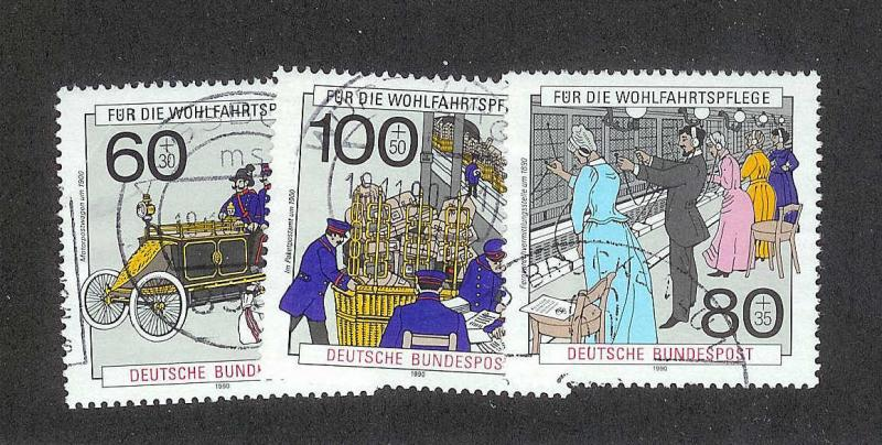 GERMANY Sc#B694-696 complete set USED
