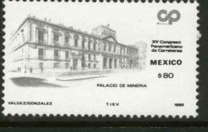 MEXICO 1458, PANAMERICAN HIGHWAYS CONGRESS. MINT, NH. VF.