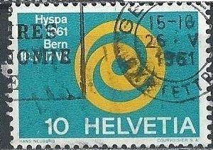 Switzerland 403 (used) 10c HYSPA 1961