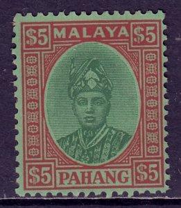 Malaya (Pahang) - Scott #43 - MLH - 1 thinned perf, glazed gum - SCV $6.00