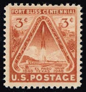 US #976 Fort Bliss Centennial; MNH (0.25)