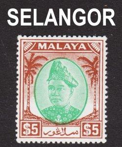Malaya Selangor Scott 94  F to VF mint OG H.