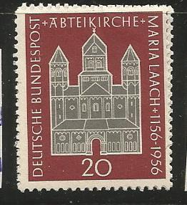 GERMANY 747, MNH STAMP, 800TH ANNIVERSARY OF DEDICATION OF THE MARIA LEACH ABBEY