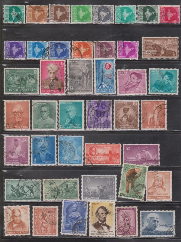INDIA - Collection Of Used Issues - Good CV Of $75.00