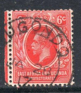 Uganda: 1917 KGV 6c. cancelled cds BUGONDO