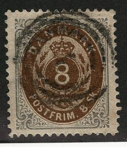 Denmark Nice SC #19 VF Used SCV$75...Grab a Sweet Deal!