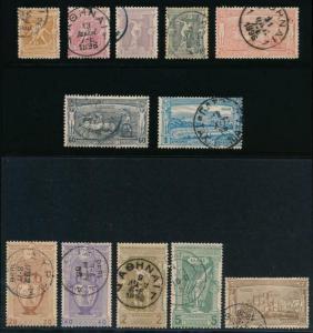 Griechenland 117-128 Gebraucht 1896 Olympische Set