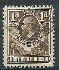 Northern Rhodesia  SG 2 Very Fine Used